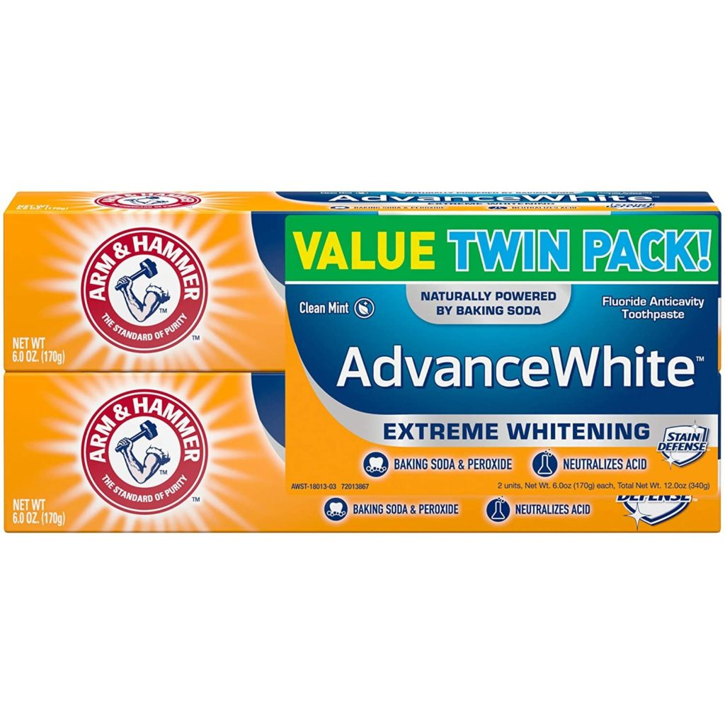 Arm & Hammer Advance White Extreme Whitening With Stain Defense