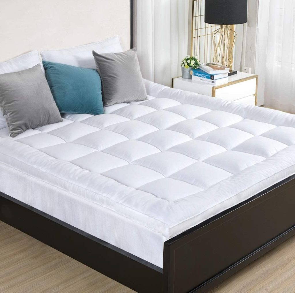 D & D THE DUCK AND GOOSE CO Overfilled Extra Thick Mattress