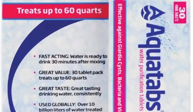 4 Best Water Purification Tablets in USA