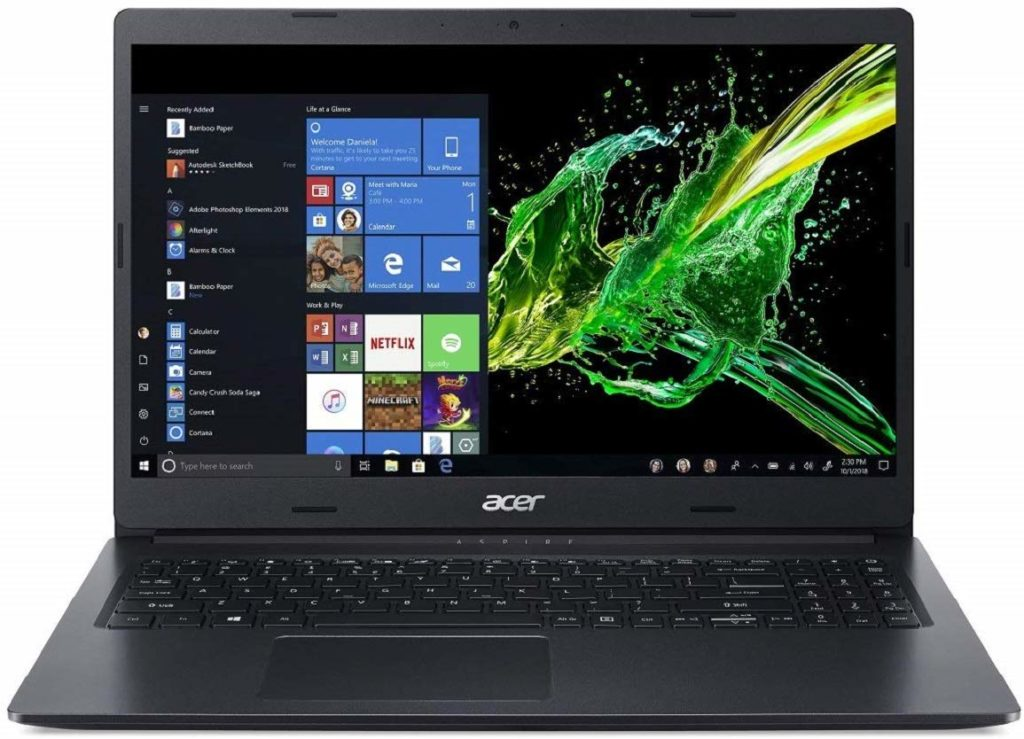 Acer Aspire 3 A315-55G 15.6-inch Thin and Light Laptop