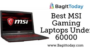 Best MSI Gaming Laptops Under 60000