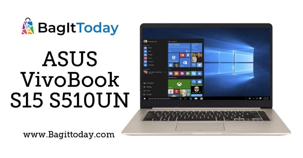 ASUS VivoBook S15 S510UN Price in India And Full Specification