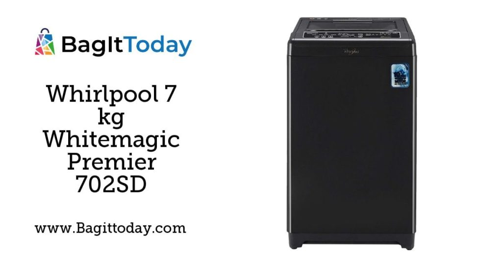 Whirlpool 7 kg Whitemagic Premier 702SD Fully-Automatic Top Loading Washing Machine Price In India And Full Specification