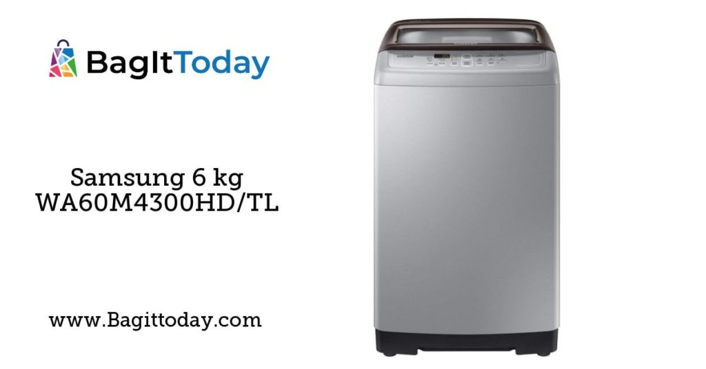 Samsung 6 kg WA60M4300HD/TL Fully-Automatic Top Loading Washing Machine Price In India And Full Specification