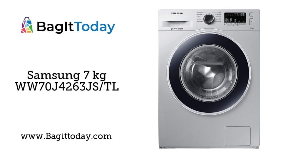 Samsung 7 kg WW70J4263JS/TL Fully-Automatic Front Loading Washing Machine Price In India and Full Specification