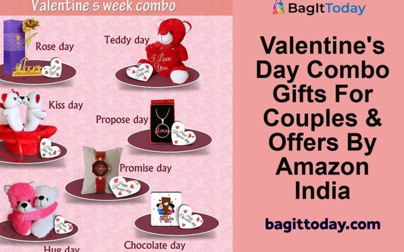 Valentine's Day Combo Gifts For Couples & Offers By Amazon India