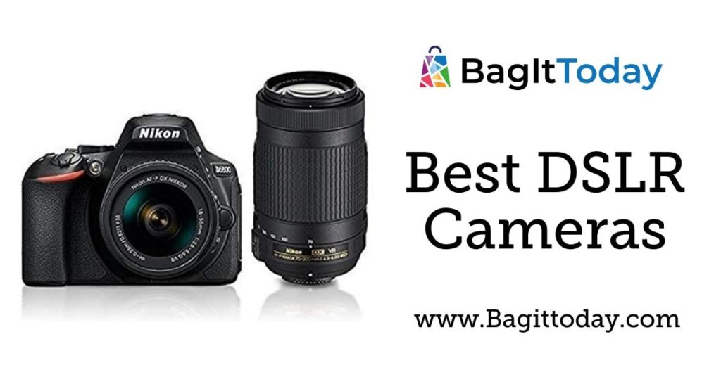 5 Best DSLR Cameras In India With Buying guide October 2021