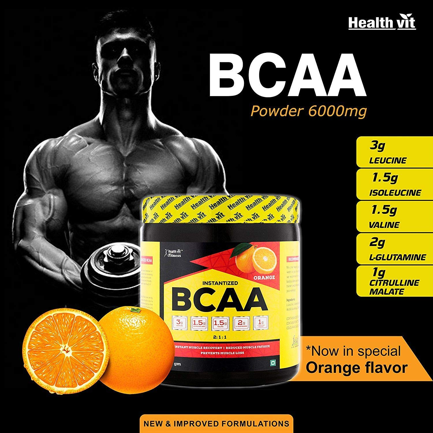 Best BCAA Supplements In India 2020
