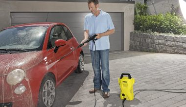 Car pressure cleaner