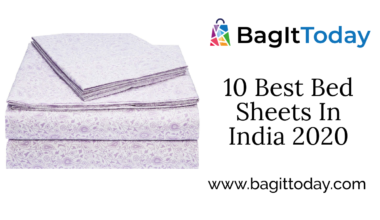 10 Best Bed Sheets In India 2020