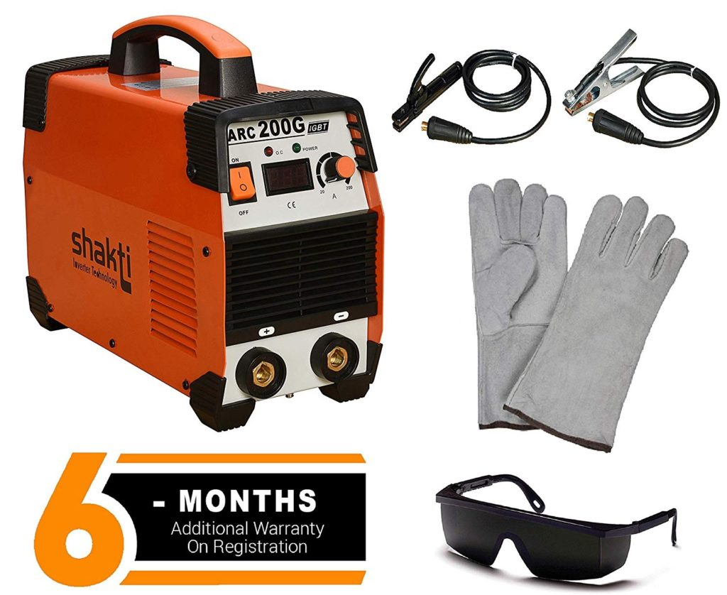 Shakti Technology 200A Inverter Welding Machine