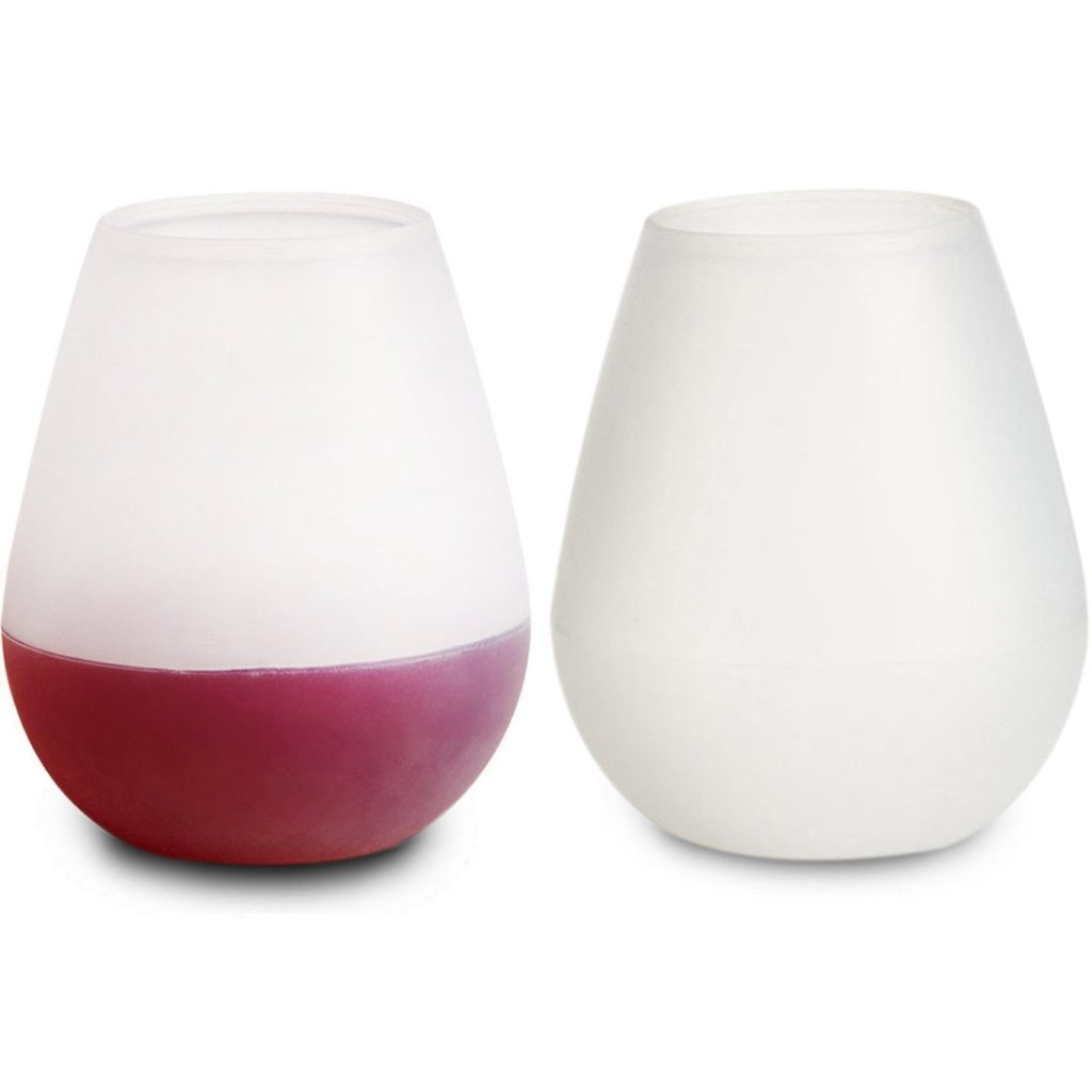 Ziaon Silicone Wine Glasses